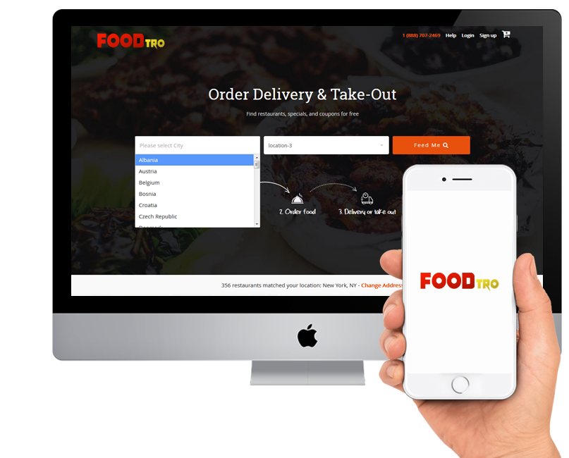Foodtro – Solution for JustEat Clone