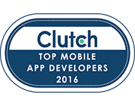 Top Web and Mobile app Development Company by clutch.co